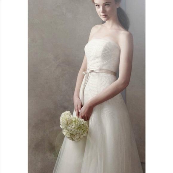 40% off White by Vera Wang Dresses & Skirts - Vera Wang White ...